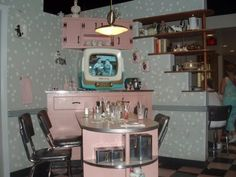 This would be a great place to visit!  50's Prime Time Cafe.