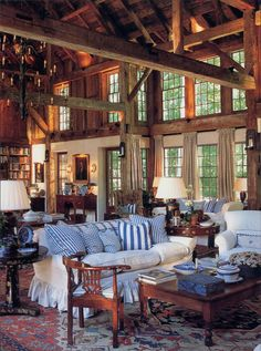 Beautifully restored barn............what a great get-away!