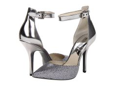 MICHAEL Michael Kors Brena Ankle Strap Gunmetal - Zappos.com - For Bridemaid's
