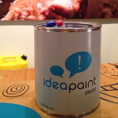 Turn virtually any surface into a dry-erase board with @IdeaPaint