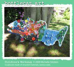 bottlecap art