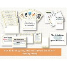 How do the things I say affect me and those around me - teaching package (includes pamphlet)