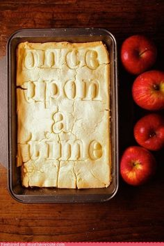 amandaonwriting:  Story Book Apple Pie