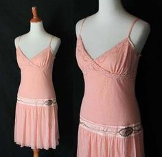 1920s style great gatsby Flapper lace Party dress Sz Medium