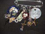 Ink Stains Altered Charm Swap - General & Halloween Themes