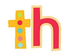 "Teaching the digraph ""th"" with a video and song"