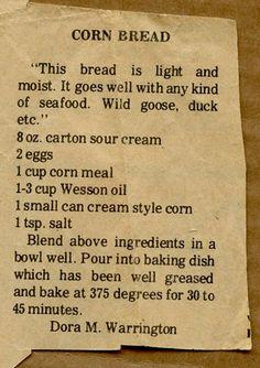 Cornbread South CarolinaStyle