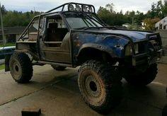 Toyota 4x4 truck (Hubbys truck)