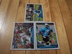 Kenjon Barner RC Brandon LaFell Steve Smith 2013 Topps Carolina Panthers Lot NFL | eBay