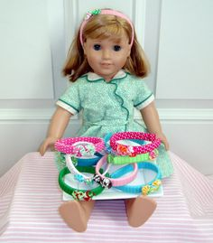 Headbands for American Girl Dolls