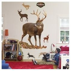 decals for a boys room? How cool if u put targets on them and let em shoot nerf guns at them!