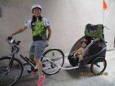 Jenny and D'Lite #burley #bike #d'lite