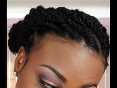 Kinky Twist Results-- Protective Style for Natural Hair - SimplYounique