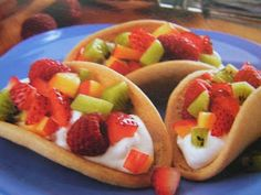 Fruit Tacos. The new fruit pizza!