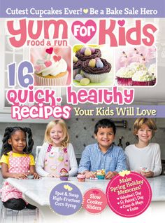 Easter Kids Brunch as Seen on Yum Food and Fun for Kids Magazine by Bird's Party