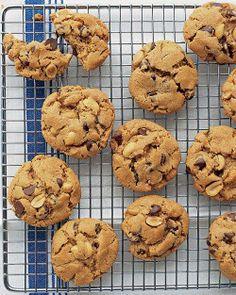 Flourless Peanut-Chocolate Cookies Recipe by @Martha Stewart Living