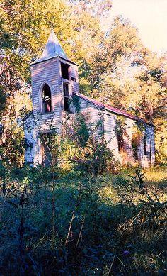 Abandoned Church - Chackbay, Louisiana