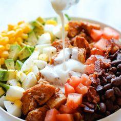 BBQ Chicken Cobb Salad