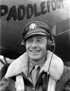 Captain Robert G. Reeder, a bomber pilot in the 8th Air Force.