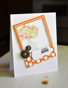 Celebrate Today Card by Maile Belles for Papertrey Ink (July 2012)