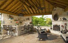 outdoor living spaces, outdoor space, outdoor kitchens, kitchen pictur, outdoor live, outdoor fireplaces, outdoor idea, outdoor kitchenfireplac, patio ideas