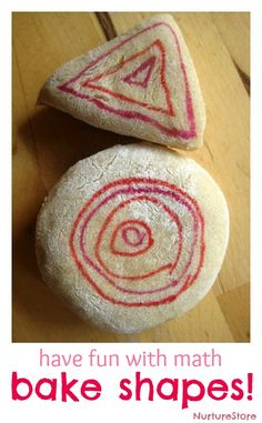 A great recipe to have fun with math : how to bake shapes!