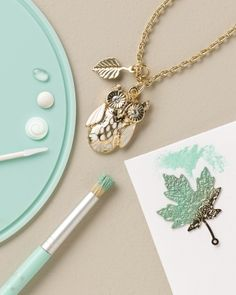 Martha Stewart jewelry craft collection lets you make your own baubles for mom this year. We love this!