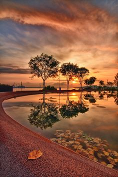 May Day Sunrise, Singapore, by Ray Alvin