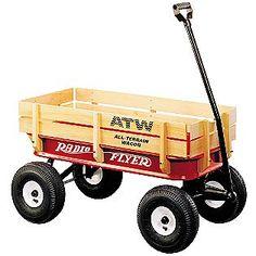 All-Terrain Radio Flyer Wagon for Ring Bearer