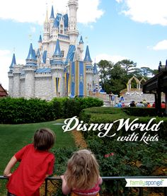 Great tips on Disney World with kids.