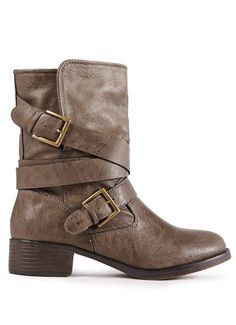 Dustin Buckle Boots