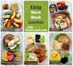 Easy? Did someone say easy? Work lunches that... work! From Deb of IPackLunch.com