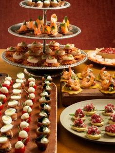 Finger foods party foods on pinterest finger foods for Canape aperitif froid