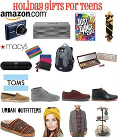 Holiday Gift Guide for Teens 2013