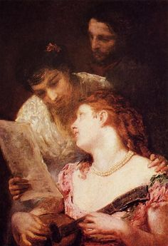 Musical Party, 1874 - Mary Cassatt