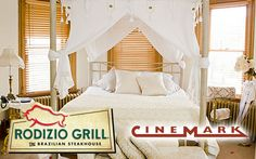 Armstrong Mansion Stay + $50 Rodizio Grill Voucher + 2 Cinemark Tickets
