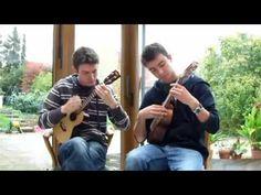 Gypsy ukulele duet - YouTube