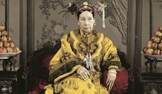 Empress Dowager Cixi, China, late 19th century.