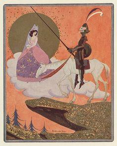 Illustration for Don Quixote by Jean de Bosschère
