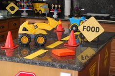 MIghty Machines party decor