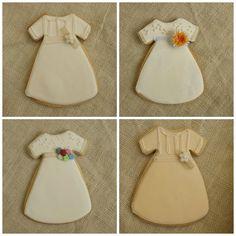 Galletas vestidos de comunion