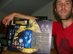 RJD2 The Minneapolis Legend with his custom made StyleFlip skin