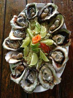 El Salvador - Fresh oysters