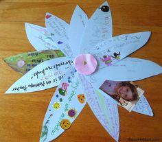 Teacher Appreciation Gift- Class Thank You Flower {jdaniel4smom}