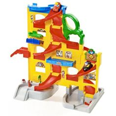 Amazon.com: Fisher-Price Little People Wheelies Stand 'n Play Rampway: Toys & Games