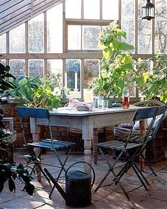 Conservatory wooden houses, chair, dream, morning coffee, angels, place, greenhous, porch, glass houses