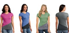 $9.99 Pieced Crewneck Tee | Sassy Steals