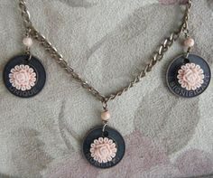 Sweet Flower Charm Necklace