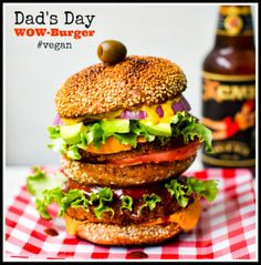 10 Veggie Burger Recipes for Father's Day + a Giveaway!