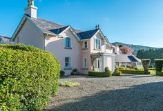 The prettiest pink house for sale near Brittas Bay in Co. Wicklow